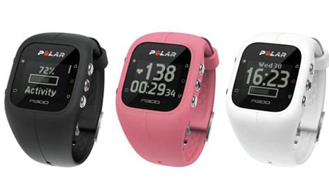 Polar A300 Wristband Yellow ces 2015 polar unveils a300 wearable activity tracker