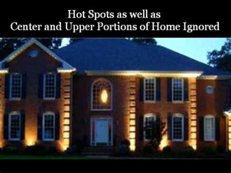 landscape lighting exles vs bad outdoor lighting exles