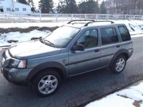 auto air conditioning service 2004 land rover freelander on board diagnostic system find used 2004 land rover freelander hse sport utility 4 door 2 5l awd no reserve in bel air