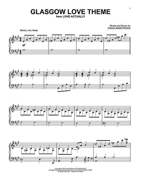 love themes classical music craig armstrong sheet music to download and print world