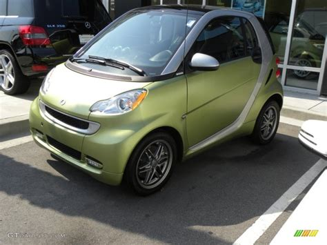 2011 green matte smart fortwo coupe 50769019 gtcarlot car color galleries