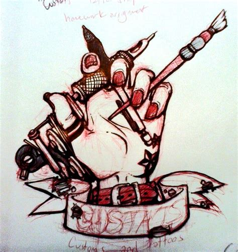 tattoo business logo custat s logo design by custat on deviantart