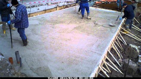 garage betonieren 130328 garage bodenplatte betonieren