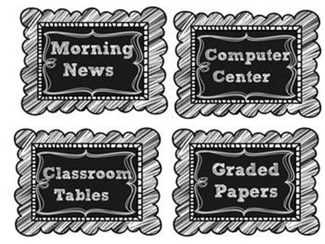 Free Editable Chalkboard Labels editable chalkboard labels and clipchart freebie by
