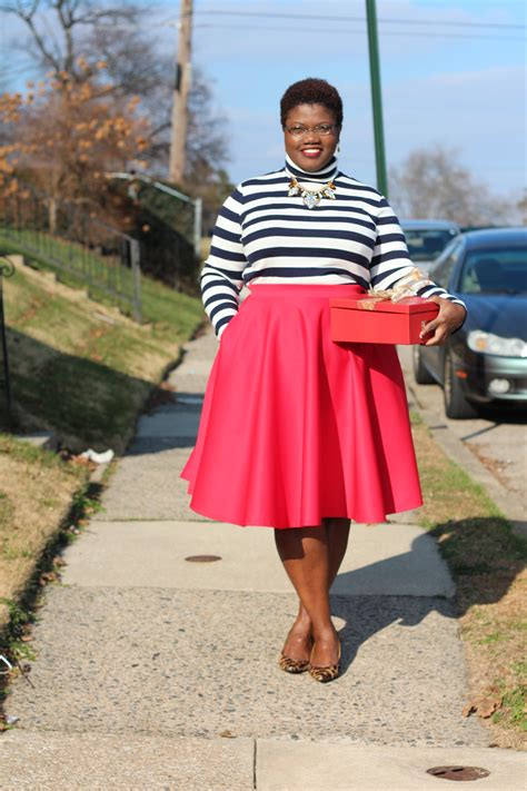 8 Figure Loving Skirts For Summer by Winter Rewind Grown And Curvy