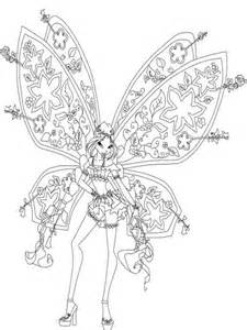 flora winx coloring pages download print flora winx coloring pages