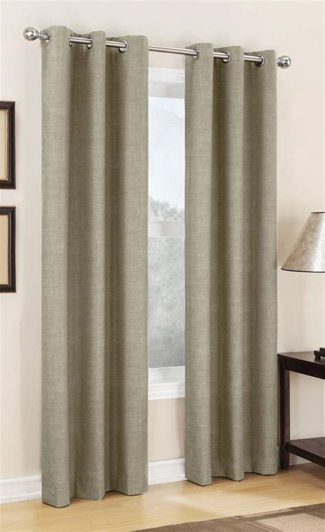 lined drapery panels carter thermal lined grommet curtain linen s