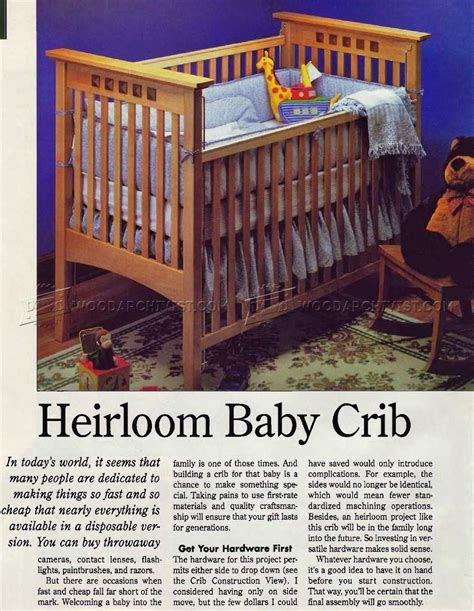 Baby Cribs Plans Crib Furniture Plans Baby Crib Design Inspiration