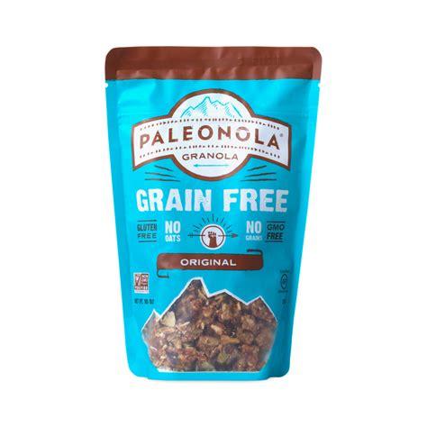 Granola Original Tajba Pouch Medium The Healthy Snack 10 oz original grain free granola by paleonola thrive market