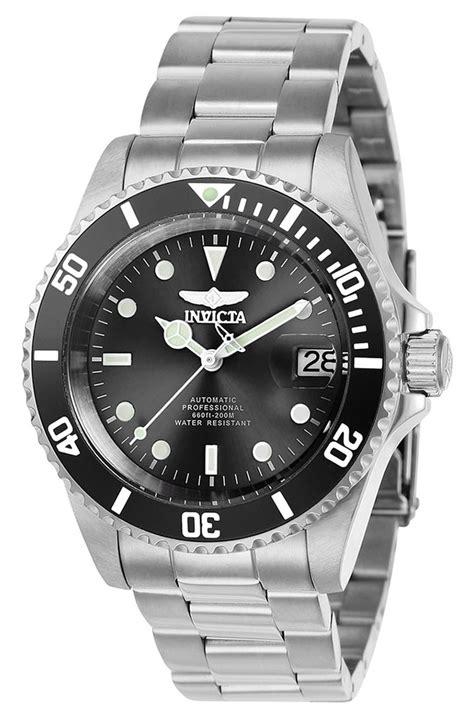 Invicta Pro Diver Mens Automatic 40mm Stainless Steel Case