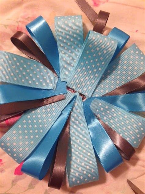 How To Make Pins For Baby Shower by Home Sweet Swaim How To Make A Ribbon Corsage Showers
