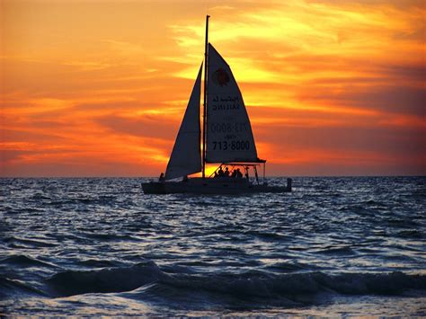 sunset boat the gallery for gt boating sunset