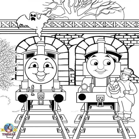 ghost train coloring page free halloween printable coloring pages best coloring