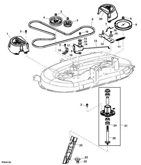 deere la115 belt diagram deere la115 mower deck diagram car interior design