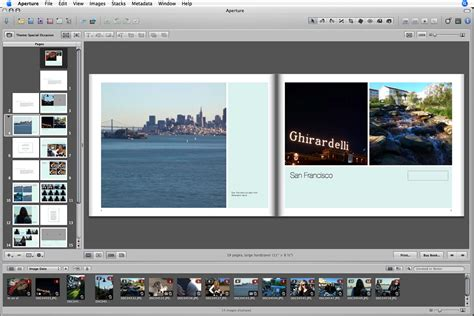 iphoto book layout options first look aperture 1 0 macworld