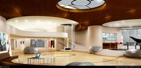 iron man s house interior by manikandan rajendran 3d get inspired by these film set decorations alux com