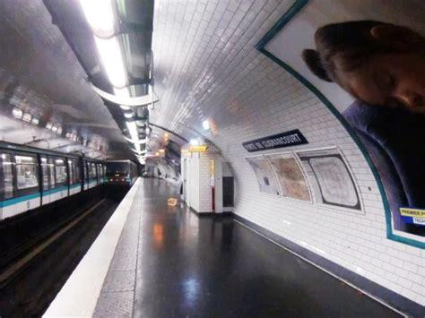 porte de clignancourt metro station 18 th 1908