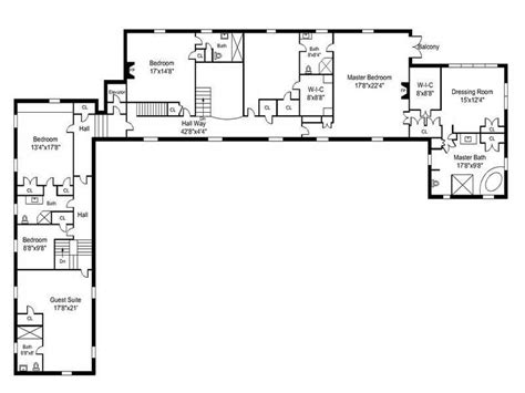 l shaped house floor plans awesome l shaped house plans with simple open floor plans