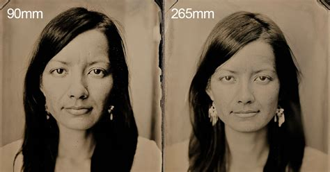 portraits at different focal lengths selecting a portrait lens with correct focal length