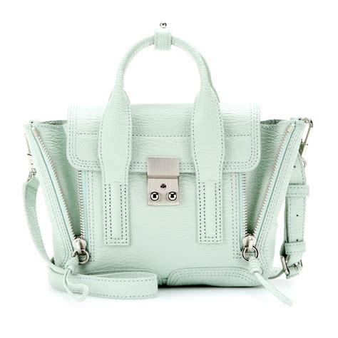 31 Phillip Lim Bag Shoulder Tote by 3 1 Phillip Lim Pashli Mini Leather Shoulder Bag In Green