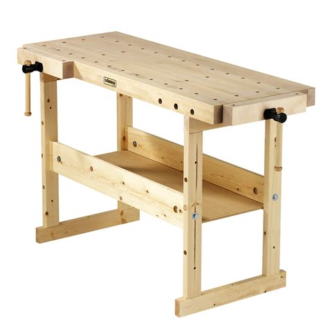 work bench shop sjobergs 33 875 in wood work bench at lowes com