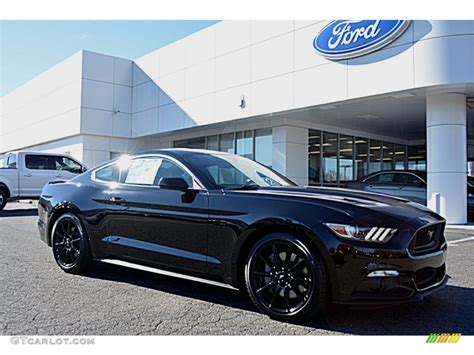 black and mustang gt 2016 shadow black ford mustang gt coupe 110028023