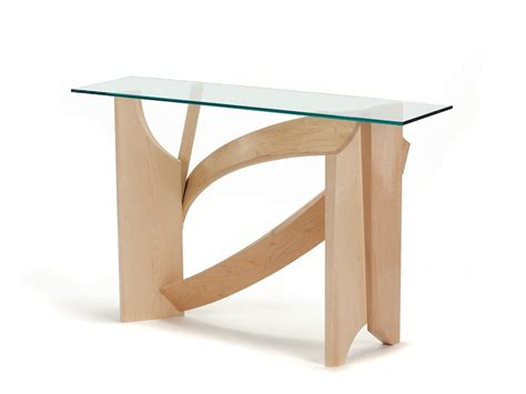 Glass Hallway Table Nico Yektai Glass Table Modern Console Table