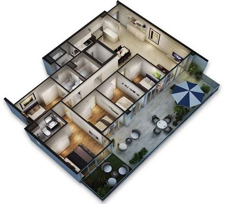 New Home Plans With Inlaw Suite by Forestville Ec New Launch 3d Floor Plan 5 Bedroom