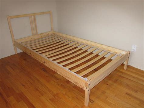 ikea pine bed ikea pine bed frame and base fjellse saanich victoria