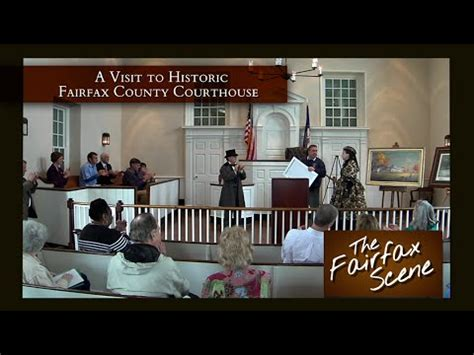 Fairfax County Court Records A Visit To Historic Fairfax Courthouse