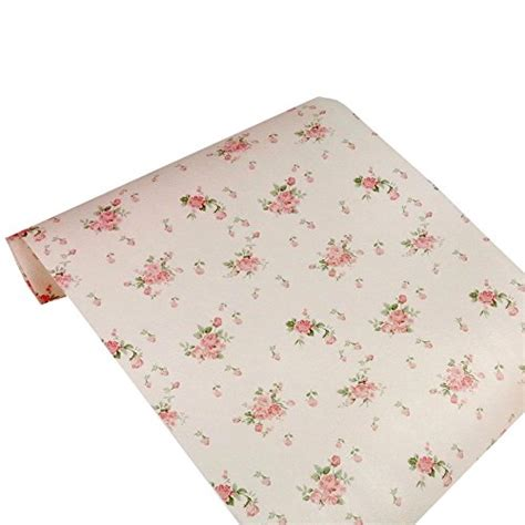 Pink Drawer Liner by Ihappy Non Adhesive Vintage Shelf Paper Drawer Liner