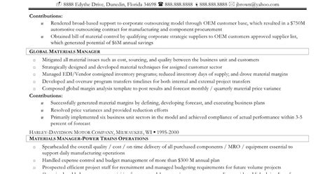 Purchasing Consultant Sle Resume by Resume Sles Purchasing Consultant Resume
