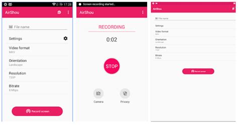 recording app android top free best screen recording apps for android