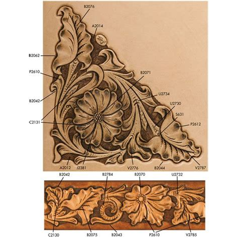 Flower Pattern Leather 1000 images about tooled leather patterns on