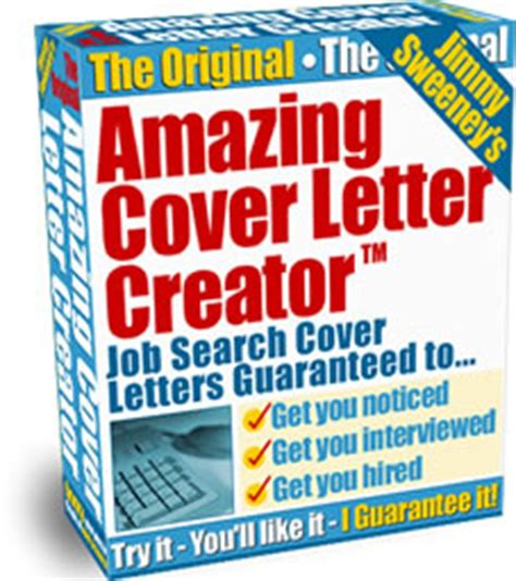 the amazing cover letter creator benefits