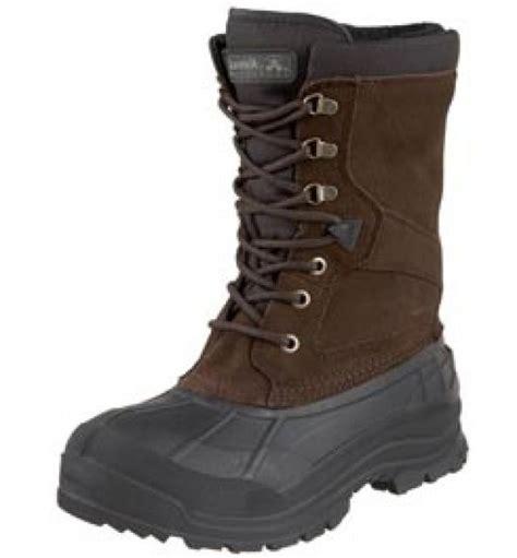 mens winter boots wide kamik kamik nationwide waterproof insulated wide widt