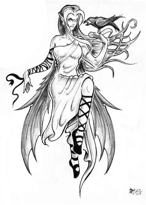 Coloriage Tatouage Princesse dessin gratuit à imprimer