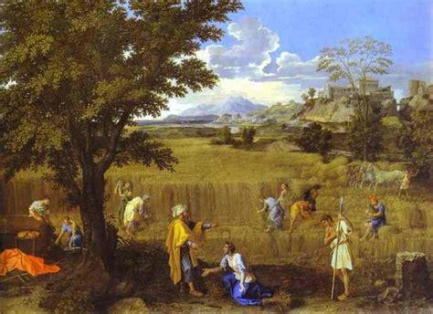 ta house painters nicolas poussin boaz en ruth op het veld bijbel en kunst