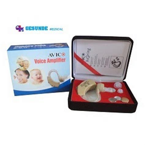 Alat Bantu Dengar Hearing Aid Avico Kabel alat bantu dengar wireless avico toko medis jual alat