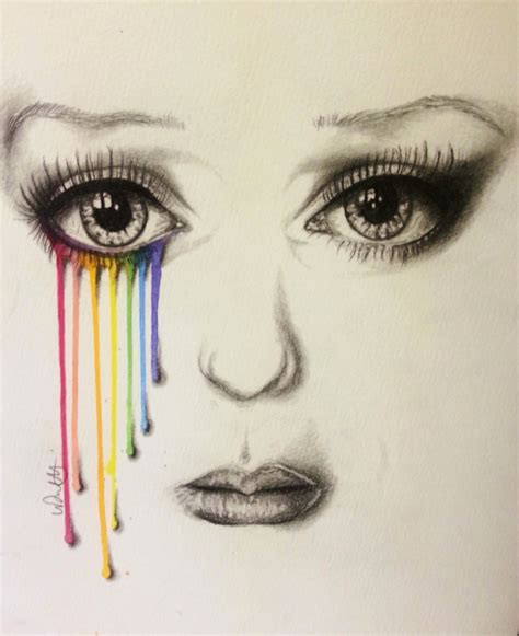 Every Artist Has A Rainbow Coloured Drawing By Vondie On Deviantart Drawings Images
