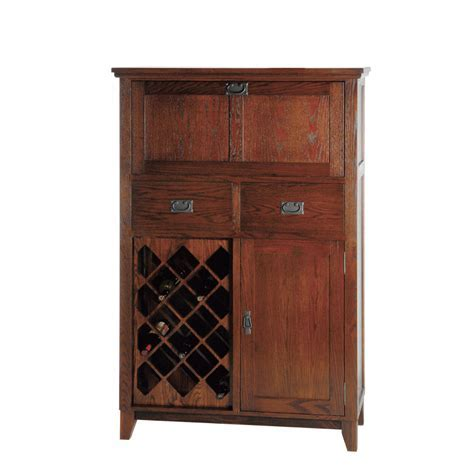 Mission Small Bar Cabinet   Home Envy Furnishings: Solid