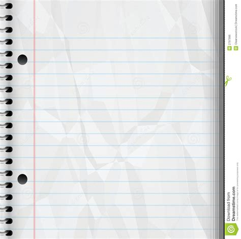 pad paper template writing pad royalty free stock image image 2797996