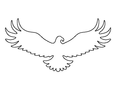outline  eagle   clip art  clip art  clipart library