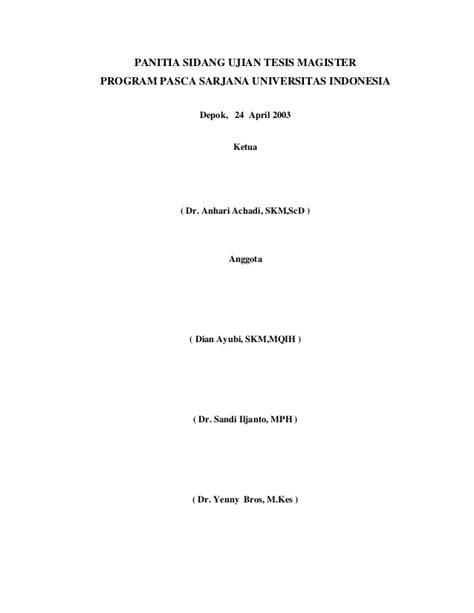 tesis magister akuntansi universitas indonesia 1 tesis asih abstrak
