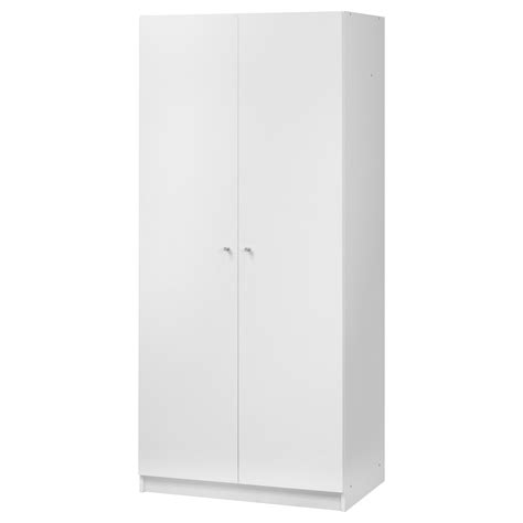 Schrank 30 Breit by Bostrak Wardrobe White 80x50x180 Cm Ikea