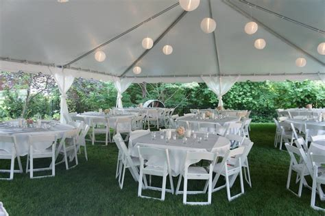 backyard wedding tent tent wedding decorations glass vas within backyard wedding