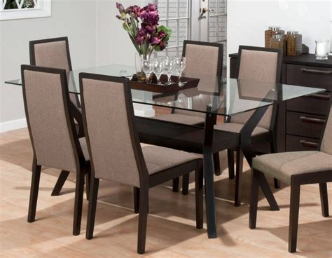 rectangular glass top dining room tables 15 best of glass dining table