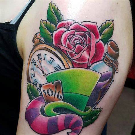 alice in wonderland small tattoos 105 in designs ideas 2018