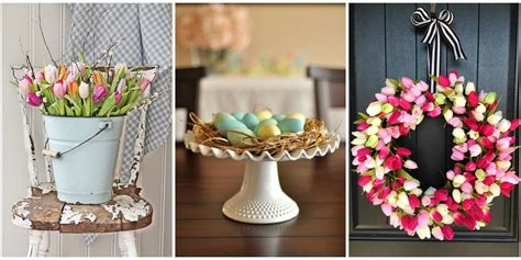 Easter Decorations To Make For The Home 30 Easter Decoration Ideas Easter Flower Arrangements
