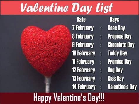 when is valentines da 7 days before valentines day day chocolate day